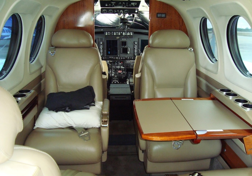 King Air C90 GTI - Interior